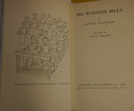 Janusz Korczak Big business Billy 12825.eee.5