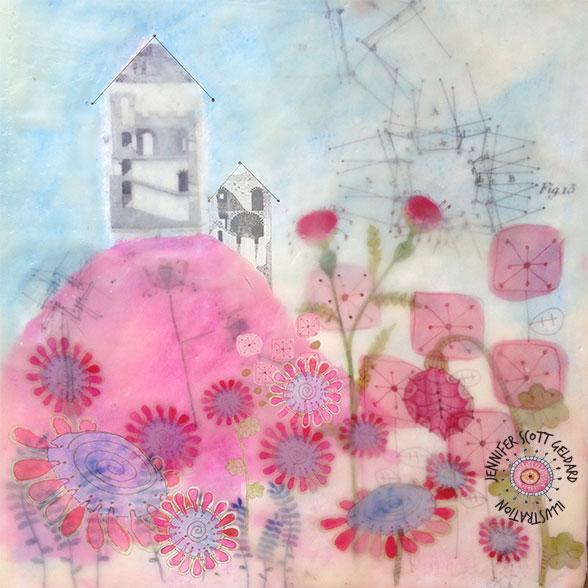 A collage by Jennifer