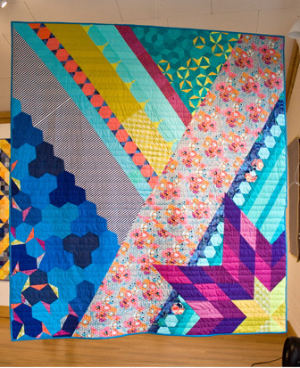 Star Quilt / queen size / Anna Boenish