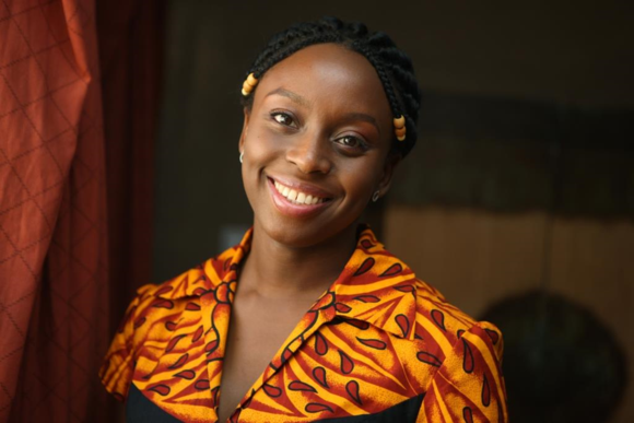 Photograph of prize-winning author Chimamanda Ngozi Adichie (2008). Courtesy of the John D. and Catherine T. MacArthur Foundation