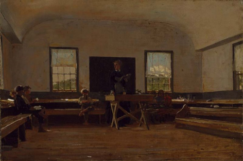 800px-Winslow_Homer_-_Country_School
