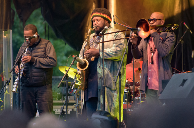 Kamasi Washington, McCarren Park, Northside Festival
