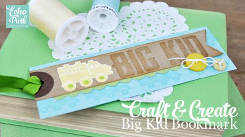Big Kid Bookmark Video Tutorial by Jennifer Gallacher for #echoparkpaper