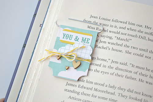 """DIY Paper Clip Bookmarks By Aly Dosdall with the """"A Fair To Remember"""" mini theme collection by #EchoParkPaper"""