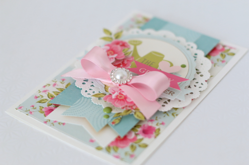 """Grandma cards by Anya Lunchenko with the """"Grandma"""" Mini Theme Collection and Designer Dies by #EchoParkPaper"""