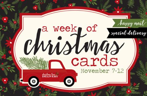 A Week of Christmas Cards #EchoParkPaper #CartaBellaPaepr