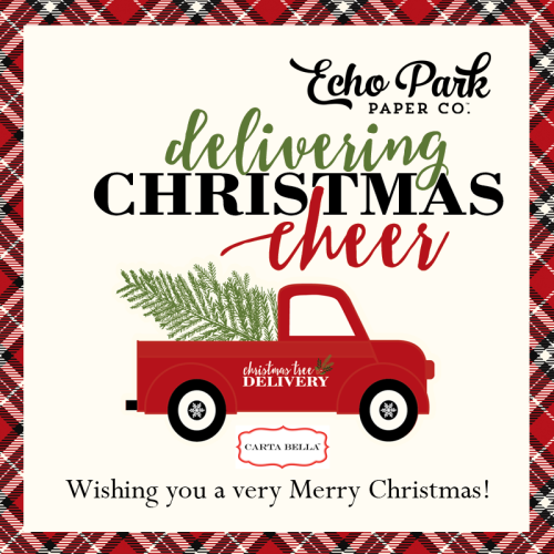 Merry Christmas 2016 from #EchoParkPaper and #CartaBellaPaper