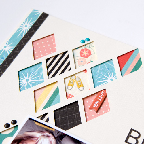 """Document your selfies like Tegan Skwiat with the """"Metropolitan Girl"""" collection by #CartaBellaPaper"""