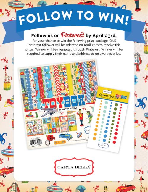 Follow_to_Win_Pinterest_Toy_Box_Facebook #CartaBellaPaper