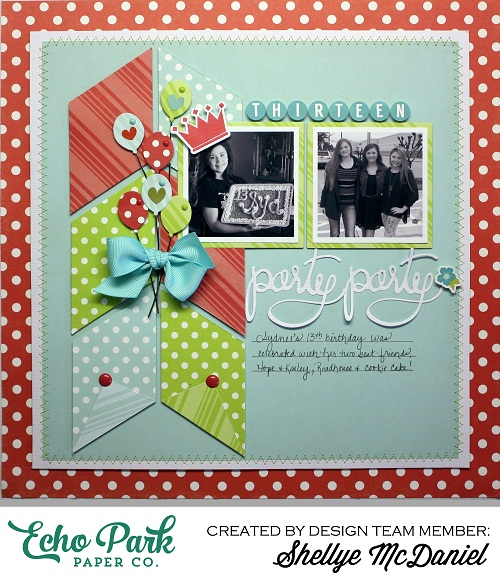 Shellye McDaniel-Party Party Layout Dots and Stripes1