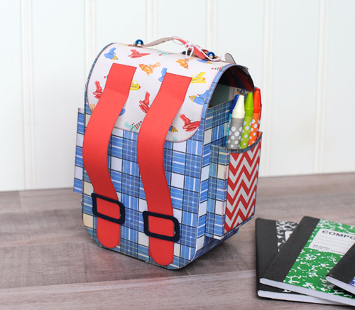 "Toy Box Backpack Activity Set by Jana Eubank with the ""Toy Box"" Collection from #CartaBellaPaper"