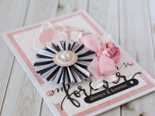 """Always & Forever"" card by Anya Lunchenko with the ""Wedding Bliss"" collection by #EchoParkPaper"