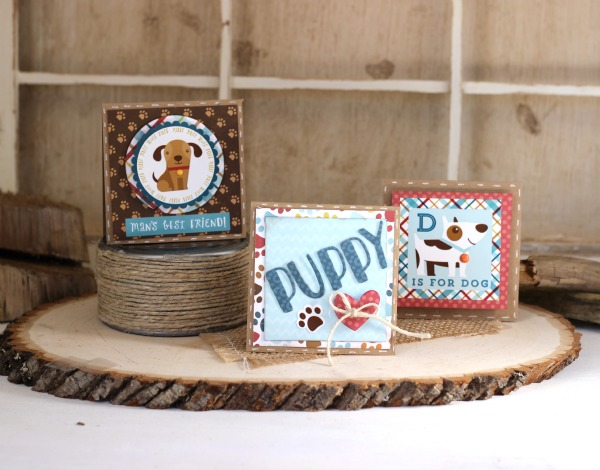 Puppy Mini Cards with our