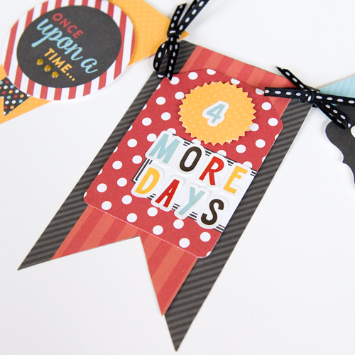 "Decorative countdown/celebration  banner by Tegan Skwiate featuring the ""Magical Adventure"" collection by #EchoParkPaper"