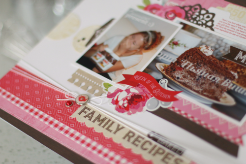 """Create a special layout like this one by Anya Lunchenko with the """"Happiness is Homemade"""" collection by #EchoParkPaper"""