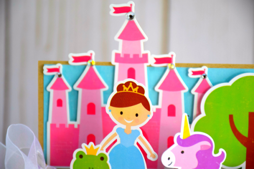 Perfect Princess 3d Projects by Tya Smith for #EchoParkPaper