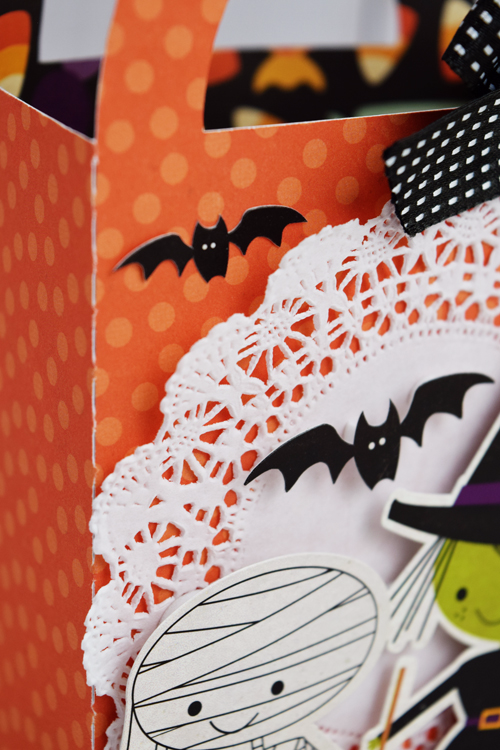 "Halloween Trick or Treat bag by Becki Adams with the ""Halloween Town"" collection by #EchoParkPaper"