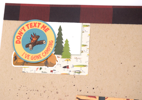 """""""Gone Camping"""" layout by Tya Smith for #CartaBellaPaper"""