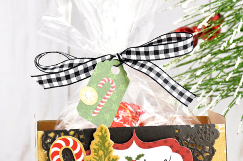 """Christmas Treat Crates by Tya Smith featuring the """"Celebrate Christmas"""" collection by #EchoParkPaper"""