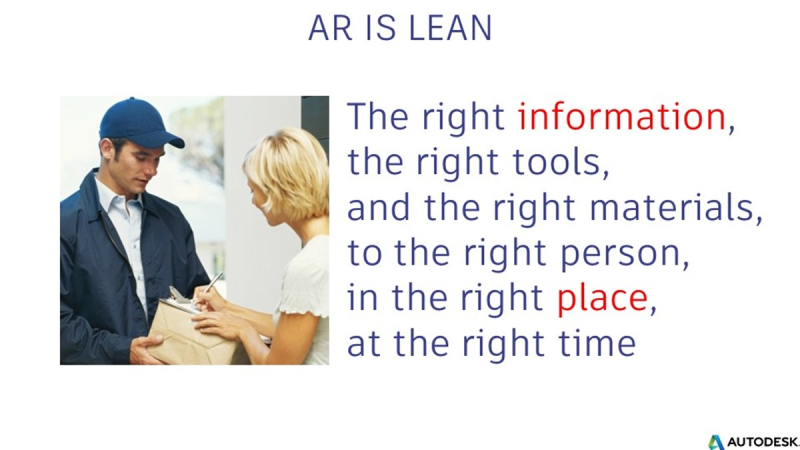 lean construction manufacturing information place tools materials person time right