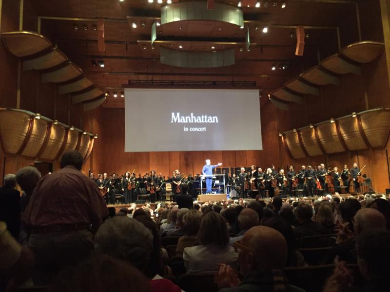 Manhattan at NY Philharmonic