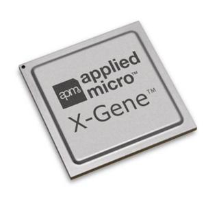 Figure 1:  Applied Micro's 64-bit ARM-based X-Gene