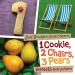 Jane Brocket: 1 Cookie, 2 Chairs, 3 Pears: Numbers Everywhere (Jane Brocket's Clever Concepts)
