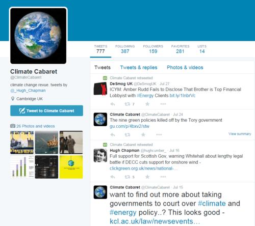 ClimateCabaret