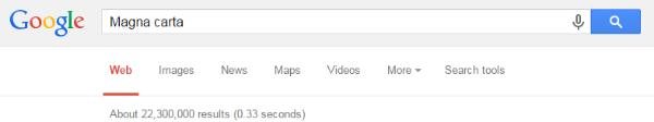 GoogleSearchMagnaCarta