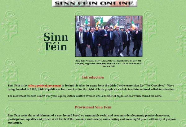 SinnFein