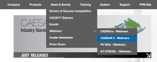 CAESAR II Website