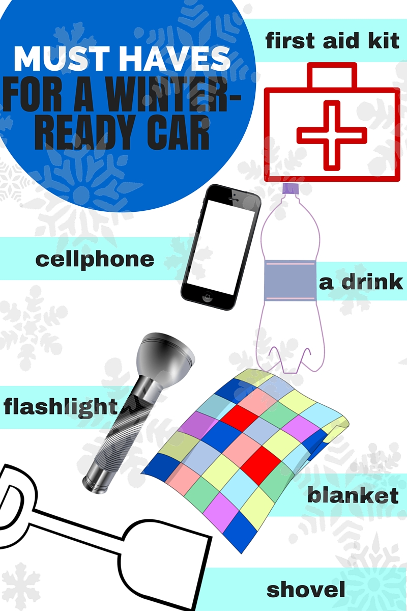 Things to keep in your car this winter.