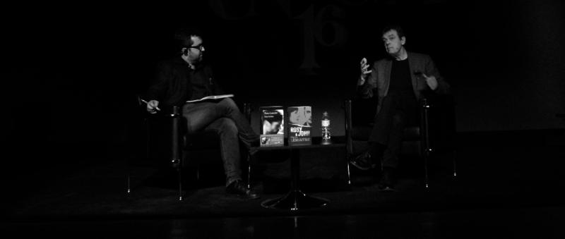 De izquierda a derecha, Álvaro Colomer y Pierre Lemaitre