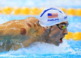 Olympic Champion Michael Phelps