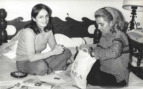 Rosario Ferré y Elena Poniatowska
