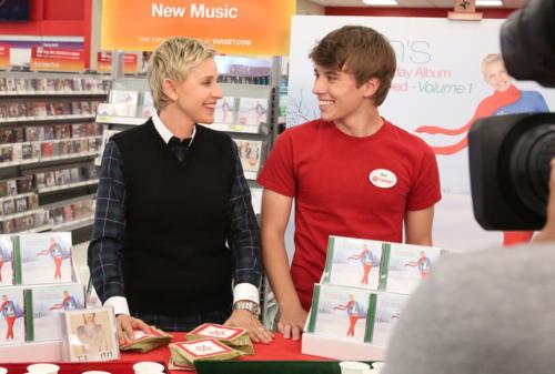 Ellen and Alex from Target