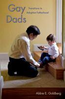 Gay Dads: transition to adoptive fatherhood