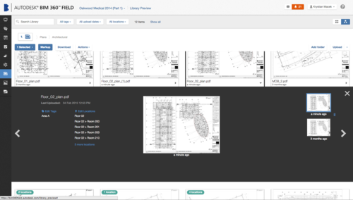 BIM 360 Field Screen Shot