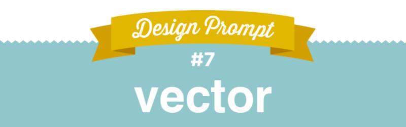 Day 7 Design Challenge, #SFDesignADay, SpoonChallenge, Vector Design, Vector, Design Prompt
