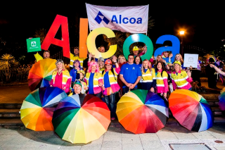 Alcoa proud at Pride Parade