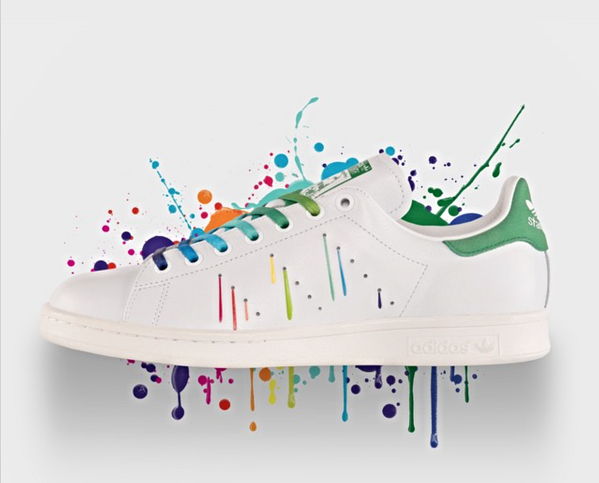 adidas donna stan smith arcobaleno