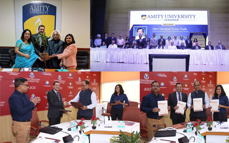 Amity University and Jindal Global Business School