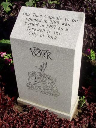 York_Civic_Centre_Time_Capsule