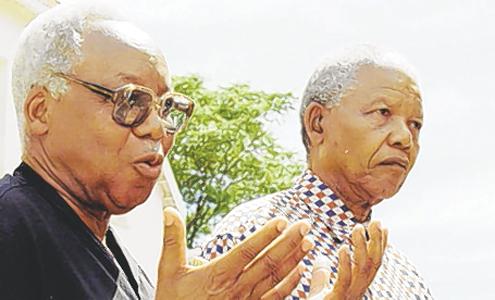 Nyerere y Mandela