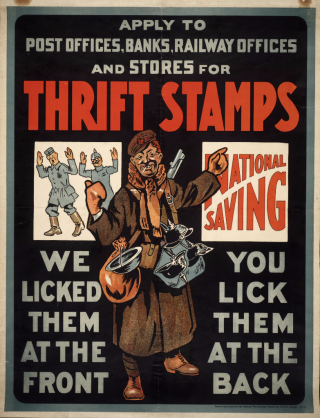 National War Savings Committee, 1914