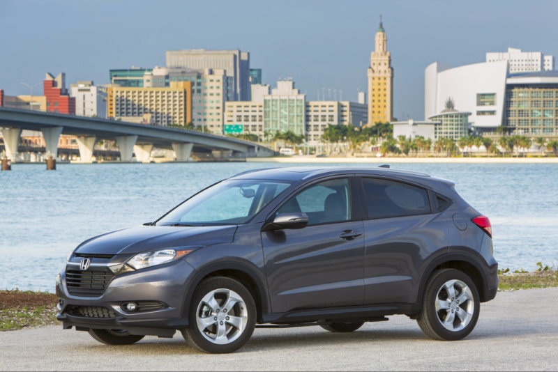 2017 Honda HR-V - KBB's Best Resale Value 2017 - Smail Honda Blog