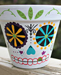 Get Inspired Workshops: Day of the Dead Pots