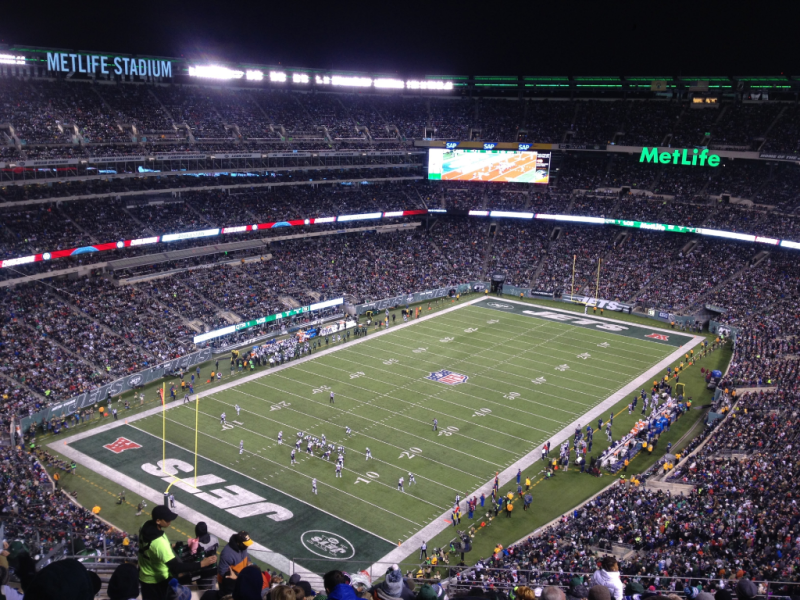 New England Patriots at New York Jets  MetLife Stadium  November 2016