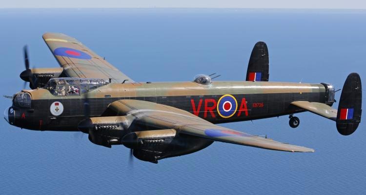 Mynarski Memorial Lancaster In Flight